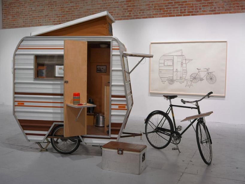 Велосипед дом на колесах