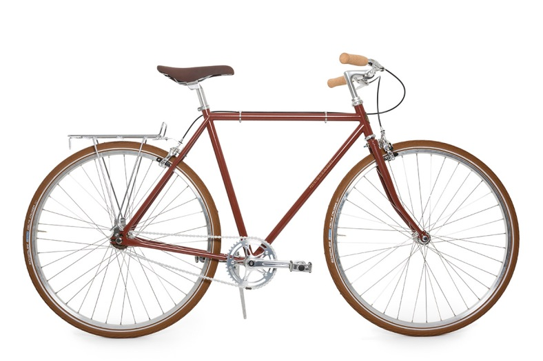 The Heritage Chief is the embodiment of an American city bike, perfect for daily riding with classic style.